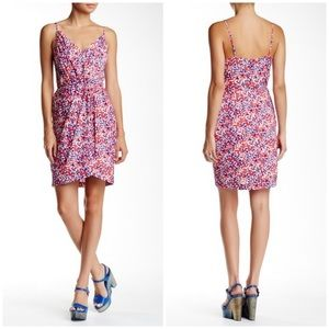 Yumi Kim Jayne Tulip Dress Coral Daisy small